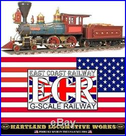 HARTLAND THE GENERAL HLW G SCALE 124 LOCO ELECTRIC STEAM USA