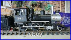 HLW 4-4-0 Hartland steam engine, G Scale, The American, Union Pacific, rare item