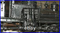 HO Brass Rare United Scale P. F. M Shay Mich. Cal. Lumber Co. #2 Pacific Fast Mail