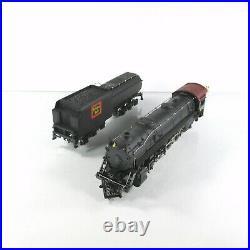 HO Scale BURLINGTON ROUTE CB&Q #7015 4-8-2 Steam Locomotive & Tender IHC M632