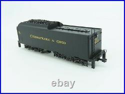 HO Scale MTH 80-3249-1 C&O Chesapeake Ohio 2-6-6-6 Steam Loco #1601 DCC & Sound