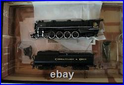 HO Scale SPECTRUM Steam Locomotive C&O J2 4-8-2 DCC #84202