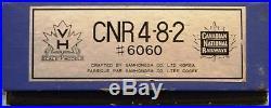HO Scale VH Brass Custom Painted CNR U1f 4-8-2 Canadian National #6060