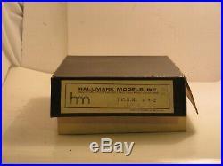Hallmark Brass Illinois Central 2547 HO Scale 4-8-2 Steam Engine and Tender