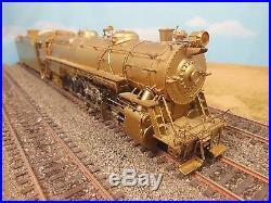 Ho Scale Brass Alco Prr N-2 2-10-2 Steam Locomotive