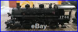 Ho Scale Brass Sunset Models Southern Pacific M-6 SP 2-6-0 Steam Engine #1746