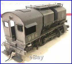Ho Scale Brass Westside Southern Pacific 0-6-0T Shop Switcher SP #966 Weathered