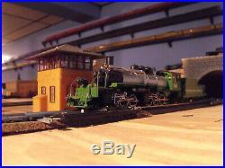 Ho Scale Logging Steam Locomotive