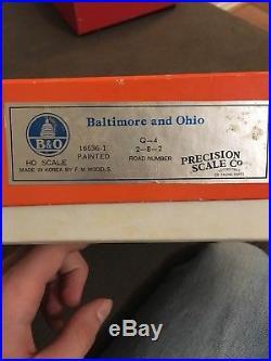 Ho Steam Precision Scale Co. Psc-16536-1 Baltimore & Ohio 2-8-2 Q-4 Mikado