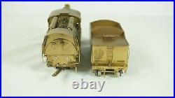 Howell Day HO Scale Brass Central NJ 4-6-0 Camelback Steam Engine & Tender No Go