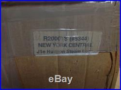 KHS G SCALE USA TRAINS ITEM #R20001S J1e HUDSON STEAM LOCO NY CENTRAL #5344