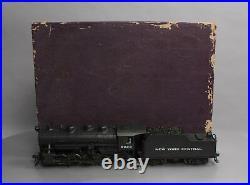KTM 2720 O Scale 2 Rail Brass NYC 0-8-0 Steam Locomotive & Tender/Box