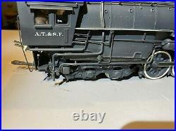 KTM Brass O Scale Texan 2-10-4 Santa Fe Steam Engine #5012