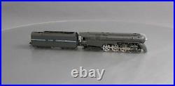Key Imports 5449 BRASS HO Scale NYC 4-6-4 Hudson Steam Locomotive & Tender/Box