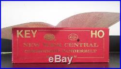Key New York Central HO Scale Brass Commodore Vanderbilt Steam Engine