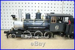 LGB 20192 (2019S) 2-6-0 C&S Steam Mogul Locomotive & Tender G-Scale