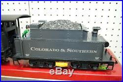 LGB 2019S (20192) 2-6-0 C&S Steam Mogul Locomotive & Tender G-Scale
