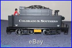 LGB 2019S G Scale Colorado & Southern 2-6-0 Mogul Steam Locomotive & Tender