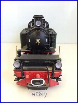 LGB 2085D Green Mallet 0-6-6-0 Locomotive Smoke Lights Excellent G Scale with Box