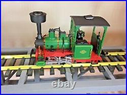 LGB 21140 G Scale Oberstein & Koppel 0-4-0 Steam Locomotive EX/Box
