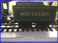 LGB 21232 2-4-0 Steam Locomotive in Southern livery. Sound & smoke. G scale