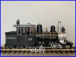 LGB 21251 Sandy River & Rangeley Lakes 0-4-4 Forney Steam Loco #21 G Scale