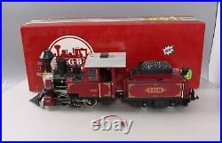 LGB 2217D LGB G Scale Steam Locomotive with Tender/Box