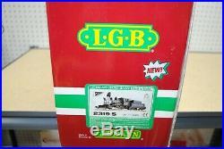 LGB 2319S 2-6-0 C&S Steam Mogul Locomotive & Tender withSound G-Scale (23192)