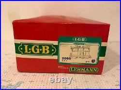 LGB G Scale 2050 Elias Steam Loco O. E. G. #102 Original Box