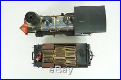 LGB G Scale DSP & PRR 2-6-0 Steam Engine and Tender Item 2028D Works Nice