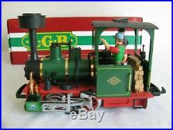 LGB Lehmann G Scale O&K Field Railway Industrial Steam Locomotive #21140 EX