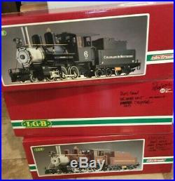 LGB Lehmann Gross Bahn 2019S Colorado Southern Mogul withbox G Scale Train Engine