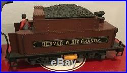 LGB Lehmann Gross Bahn 2219S Rio Grande 2-6-0 Mogul withbox G Scale Train Engine