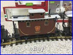 LGB Lehmann Gross Bahn 2219s Rio Grande 2-6-0 Mogul withbox G-Scale TRAIN & CARS