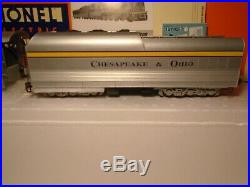 LIONEL 18043 C&O SEMI SCALE STREAMLINE HUDSON WithTMCC. MINT IN BOX With SHIPPER
