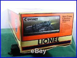 LIONEL SCALE #6-28072 NEW YORK CENTRAL J3a HUDSON STEAM LOCOMOTIVE TMCC BOXED