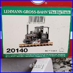Lehmann LGB 20140 G Scale Orenstein & Koppel #1411 0-4-0 Steam Engine