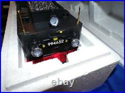 Lgb 21261 Dr Steam Locomotive And Power Tender Smoke & Amp Lights G Scale