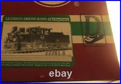 Lgb 22261.8 Frank S 0-6-0 DCC Fitted #1 Steam Loco Digital G Scale G Gauge