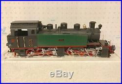 Lgb G Scale 2085d Garden Mallet 0-6-6-0 Steam Hanomag Locomotive & Tender Ob