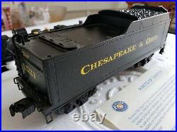 Lionel Chesapeake & Ohio Steam Engine & Tender 1521 Odyssey 0 Scale 6-28075