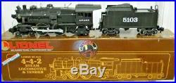 Lionel Large G Scale 4-4-2 Santa Fe Steam Locomotive & Tender EX+ in OB 6-85103