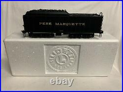 Lionel Legacy Pere Marquette Tender For 1225 Berkshire Steam Engine! O Scale