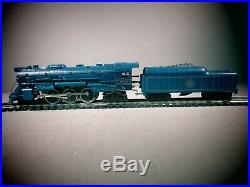 Lionel O Scale And O27 Gauge Blue Comet 4-6-4 Steam Engine and Tender 6-8801 OB