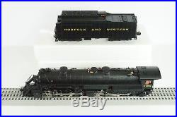 Lionel O Scale JLC Norfolk & Western N&W Y6b Steam Engine & Tender Item 6-28085