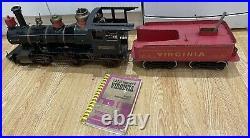 Live Steam Loco 3.5 Inch Gauge Scale Coal Fired LBSC Virginia 4-4-0 Locomotive