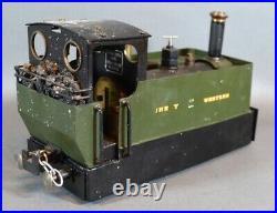 Live Steam Loco Gauge 1 G Scale 45mm 0-4-0 Locomotive With Rc GWR Tank Engine