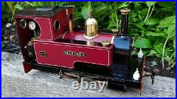 Live Steam Locomotive Merlin 0-4-0 SM32 G Scale like Roundhouse Accucraft