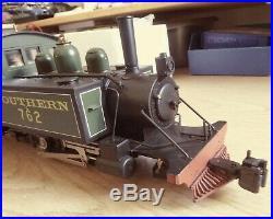 Lynton & Barnstable G scale Loco Baldwin 2-4-2T Southern 762