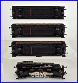 MARKLIN HO SCALE 28703 SWEDISH SJ 2-6-2 STEAM ENGINE With3 PASSENGER CAR SET